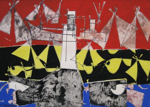 La Mer by Claude Venard (1913 – 1999)