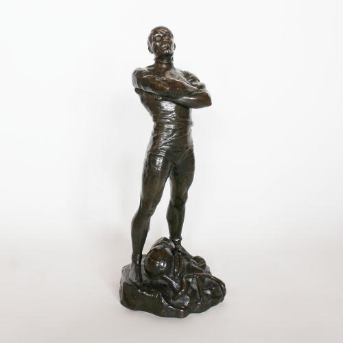 The Champion Bronze Sculpture