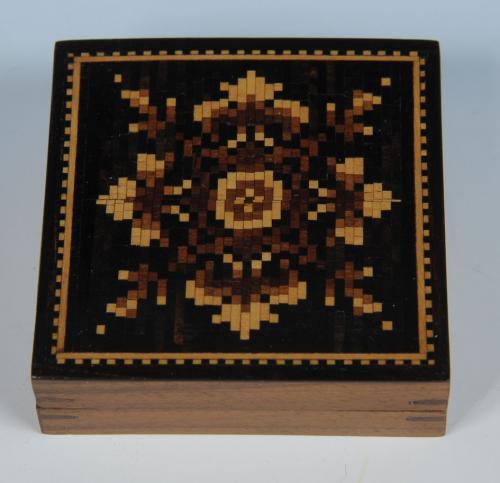 Tunbridge Ware Puzzle Box