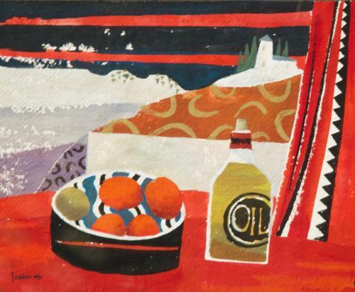 Mary Fedden RA 1915 -2012 Still Life Watercolour/Gouache