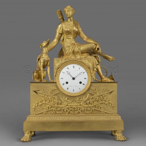 Empire Style Clock ©AdrianAlanLtd
