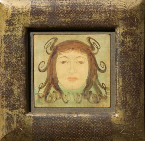 Austin Osman Spare 1886 - 1956 A Head