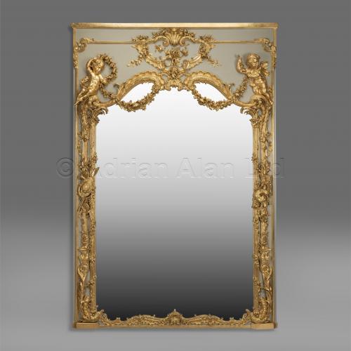 Trumeau Mirror ©AdrianAlanLtd