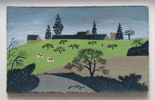 Cows in a Meadow by Jean Hugo (1894 – 1984)