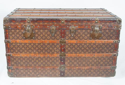Rare Louis Vuitton drawer trunk circa 1908