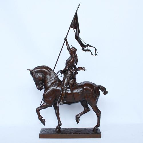 Fremiet Joan of Arc Bronze