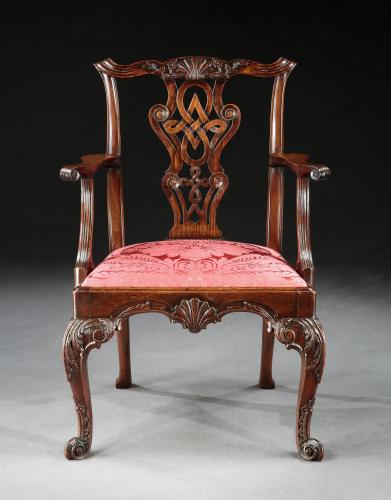 A George II Irish Armchair