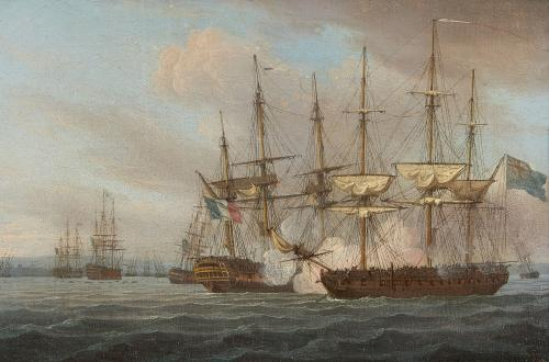Destruction of the French Fleet in Basque Roads, April 12th 1809