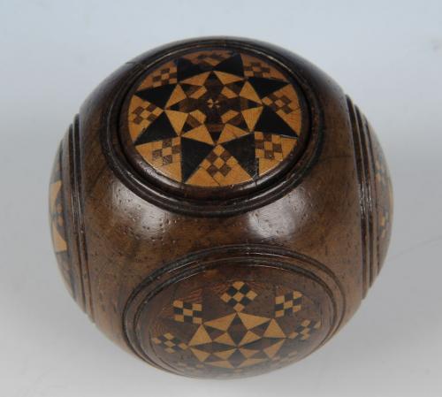 Tunbridge Ware Puzzle Ball