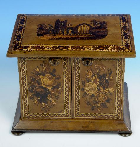 Tunbridge Ware Cabinet