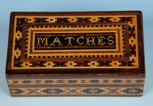 Tunbridge Ware Match Box