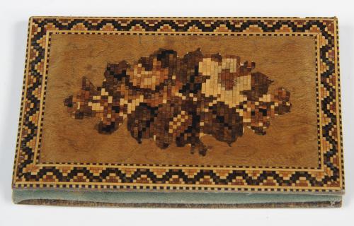 Tunbridge Ware Notecase