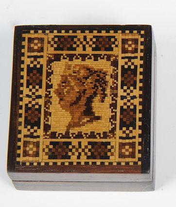 Tunbridge Ware Stamp Box