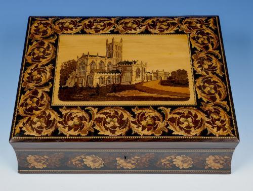 Tunbridge Ware Games Box