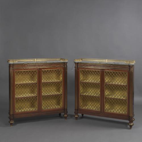 Pair of Bookcases ©AdrianAlanLtd