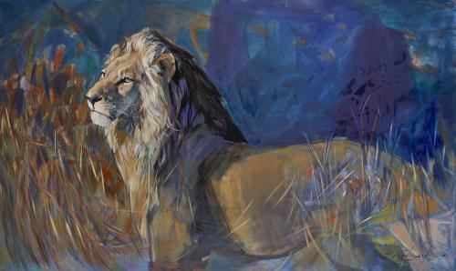 Lamb - Sunlit Lion