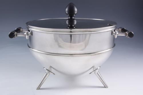 Soup Tureen by Christopher Dresser for Hukin & Heath
