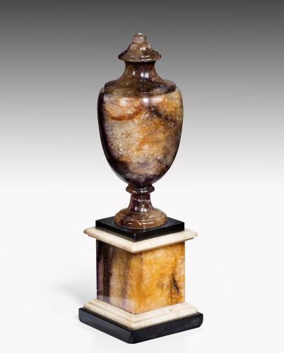 6659 George III Blue John Vase