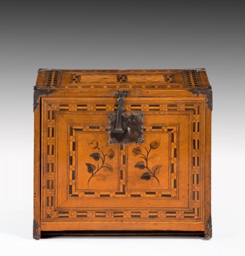 6662 Early 17th Century Intarsia Box