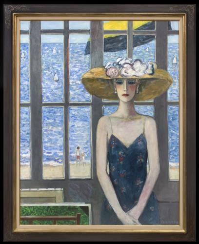 L'atelier Devant la Mer - Jean Pierre Cassigneul  (b. 1935)