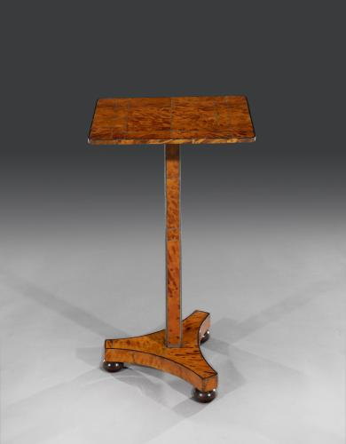 Exceptional Rare Early 19th Century Regency Period Tortoiseshell Occasional Table