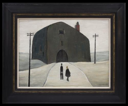 A House - LS Lowry (1887 - 1976)