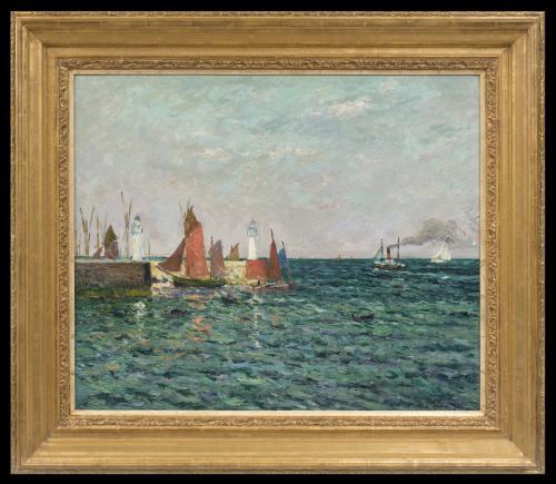 Entrée du Port de Palais, Belle-Île en Mer - Maxime Maufra (1861 - 1918)