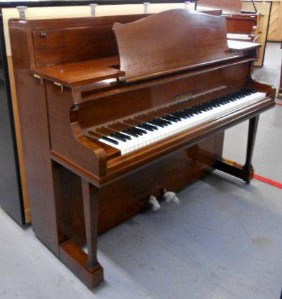 "Morley ""Lounge"" upright piano mahogany c1930"