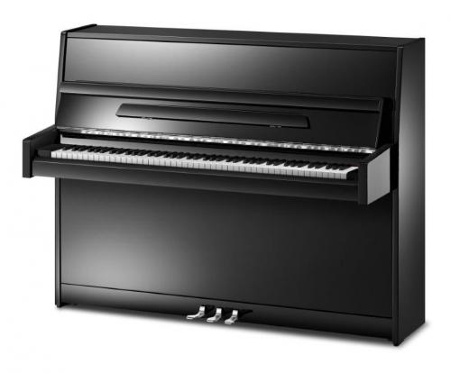 Ritmuller 112cm modern upright piano black new