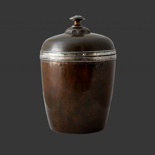 Artificers Guild silver and copper box