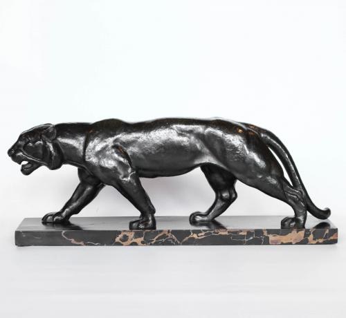 Bronze Tiger by Henri Bargas