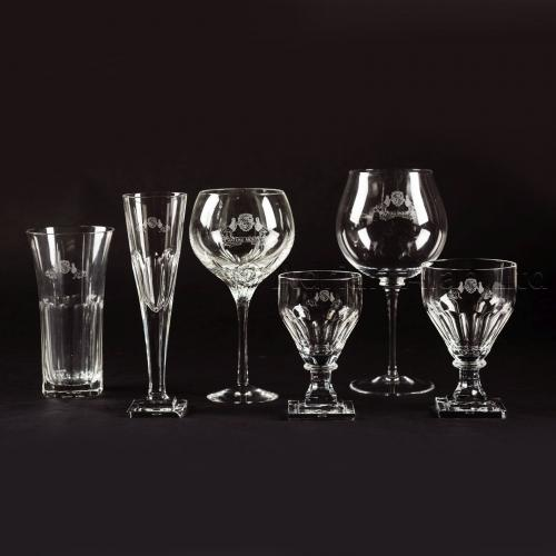 A Fine Composite Set of Drinking Glasses ©AdrianAlanLtd