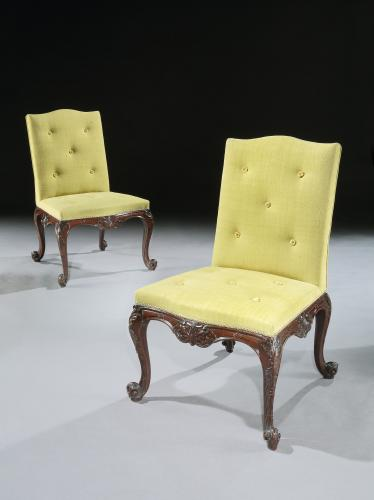 The Hagley Hall Side Chairs attributed to William Vile & John Cobb