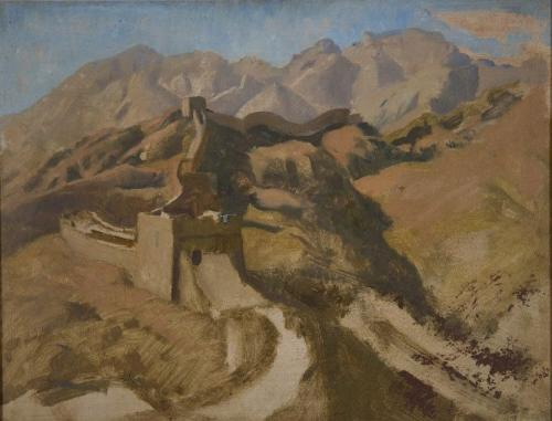 Sir Gerald Festus Kelly, P.R.A. (British 1879-1972) The Great Wall of China
