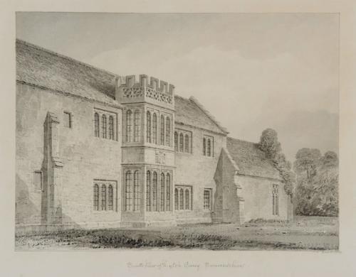 Lyte's Carey, Somerset, John Chessell Buckler (British 1793-1894)
