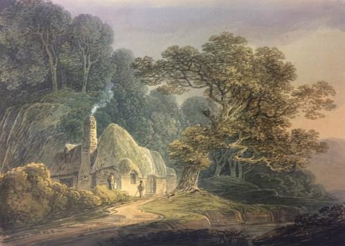 Thatched cottage, William Payne (British 1760-1833)