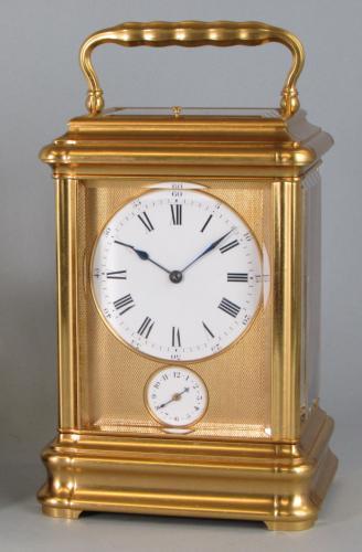 Drocourt Giant Grande-sonnerie carriage clock