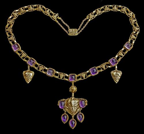 JOHN PAUL COOPER (1869-1933) 'The Grapevine' Arts & Crafts Necklace