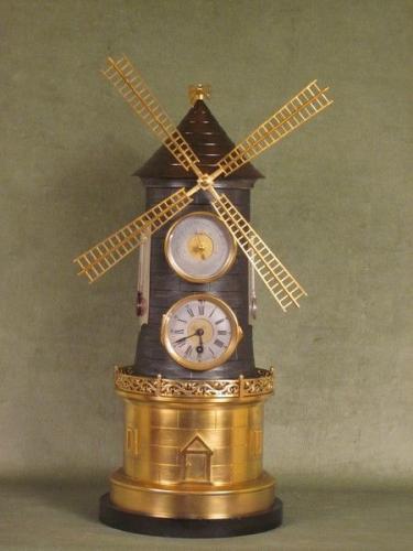 André Romain Guilmet windmill clock