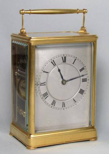 Le Roy Paris Quarter Strike Carriage Clock