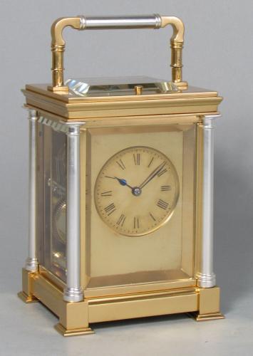 Delépine-Barrois striking carriage clock