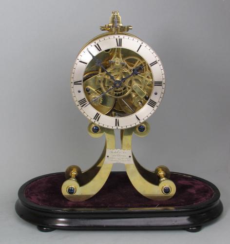 Roskell Skeleton Clock