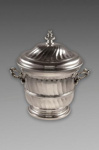 Edwardian Antique Sterling Silver Trophy Cup and Cover