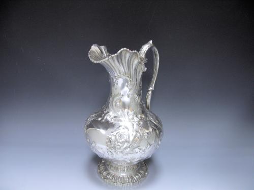 Antique American Silver Ewer