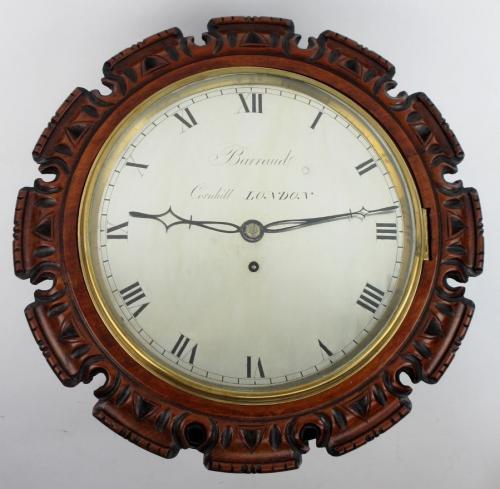 Barraud London Walnut Wall Clock