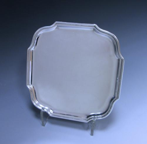 Edwardian Antique Sterling Silver Salver
