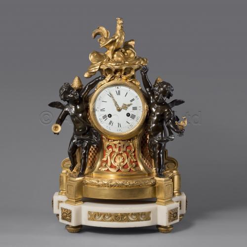Louis XVI Style Mantel Clock ©AdrianAlanLtd