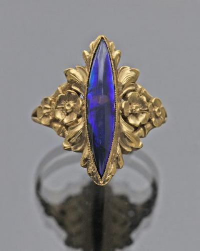 Belle Epoque Ring Attributed to GEORGES LE TURCQ (born 1859)
