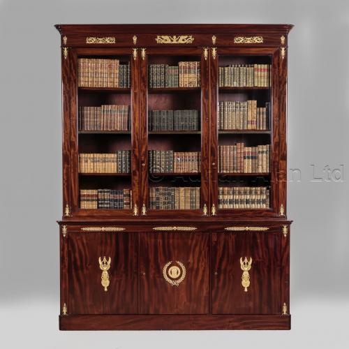 Empire Bookcase ©AdrianAlanLtd