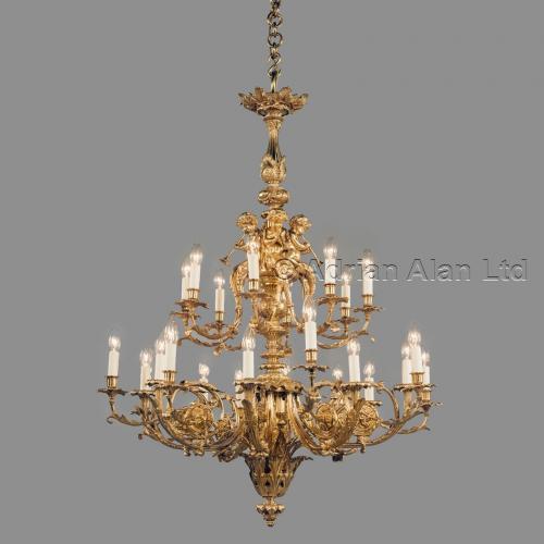 Louis XVI Style Chandelier ©AdrianAlanLtd
